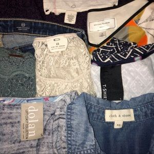 8 Piece Mystery Bundle - Anthro, FP, AG Jeans, UO